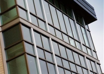 Crow Wing Curtain Wall